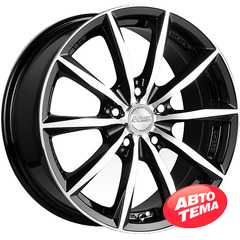 Купить RW (RACING WHEELS) H 536 BKFP R15 W6.5 PCD5x114.3 ET40 DIA67.1