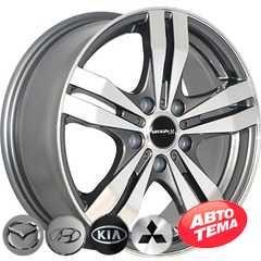 Купить REPLICA 348 MKP R16 W6.5 PCD5x114.3 ET46 DIA67.1