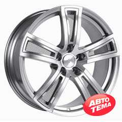 Купить FONDMETAL TECH 6 Shiny Silver Naked R17 W7.5 PCD5x114.3 ET35 DIA67.1