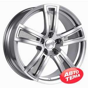 Купить FONDMETAL TECH 6 Shiny Silver Naked R17 W7.5 PCD5x108 ET45 DIA65.1
