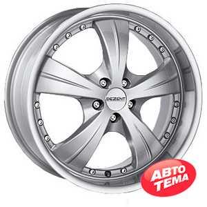 Купить DEZENT X Silver R16 W7.5 PCD5x100 ET35 DIA60.1