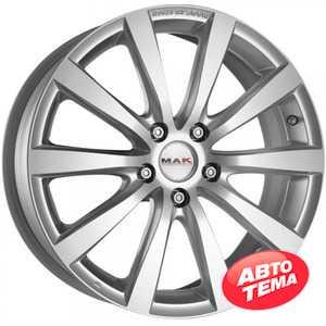 Купить MAK Iguan Silver R16 W6.5 PCD4x100 ET45 DIA72