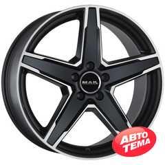 Купить MAK Stern ice black R17 W7 PCD5x112 ET45 DIA66.6