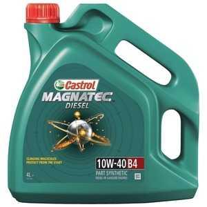 Купить Моторное масло CASTROL Magnatec Diesel 10W-40 SL/CF (4л)
