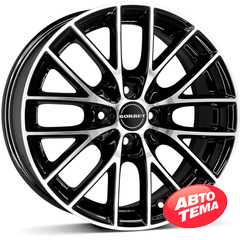 Купить BORBET BS4 Black Polished R16 W7 PCD4x108 ET27 HUB65.1