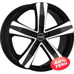 Купить MAK Stone 5 Black Mirror R17 W7.5 PCD5x127 ET40 HUB71.6