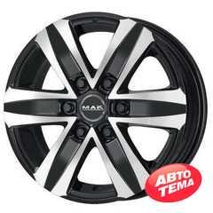 Купить MAK Stone 6 Black Mirror R16 W6.5 PCD6x130 ET62 HUB84.1