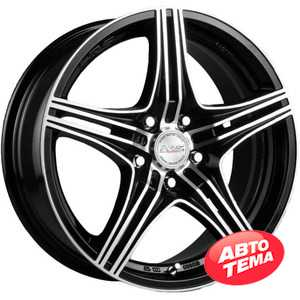Купить RW (RACING WHEELS) H-464 BK-F/P R14 W6 PCD4x100 ET38 DIA67.1