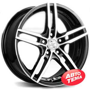 Купить RW (RACING WHEELS) H 534 BKFP R16 W7 PCD5x100 ET40 DIA67.1