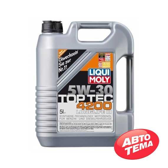 Моторное масло LIQUI MOLY Top Tec 4200 - Интернет магазин резины и автотоваров Autotema.ua