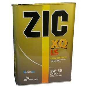 Купить Моторное масло ZIC XQ LS 5W-30 (4л)