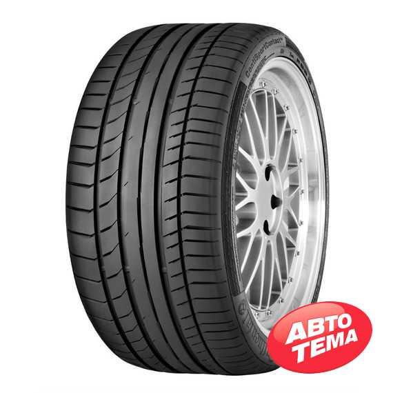 Купить Летняя шина CONTINENTAL ContiSportContact 5P 255/40R21 102Y