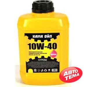 Купить Моторное масло КАМА ОЙЛ 10W-40 (4л)