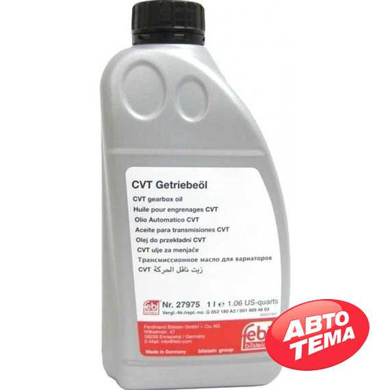 Трансмиссионное масло FEBI ATF CVT - Интернет магазин резины и автотоваров Autotema.ua