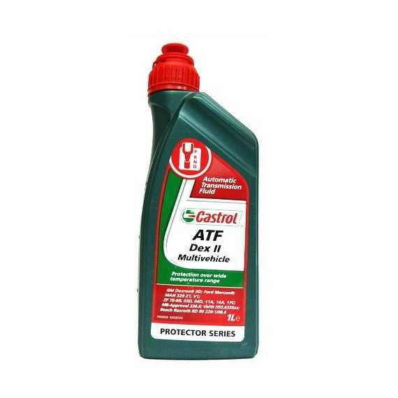 Трансмиссионное масло CASTROL ATF Dex II Multivehicle - Интернет магазин резины и автотоваров Autotema.ua