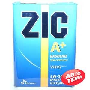 Купить Моторное масло ZIC A + 5W-30 (4л)