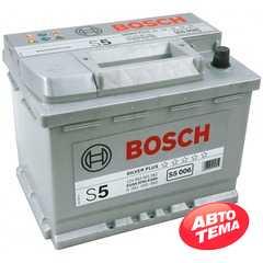 BOSCH (S5006) 63Ah-12v - Интернет магазин резины и автотоваров Autotema.ua