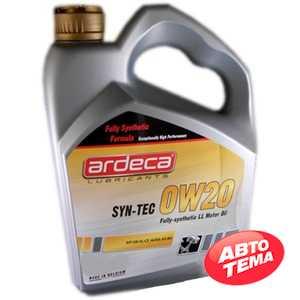 Купить Моторное масло ARDECA SYN-TEC 0W-20 (4л)