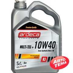 Купить Моторное масло ARDECA Multi-Tec Plus 10W-40 (5л)