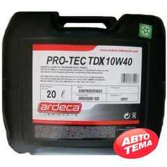 Купить Моторное масло ARDECA PRO-TEC TDХ 10W-40 (20л)