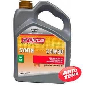 Купить Моторное масло ARDECA SYNTH-DX 5W-30 (4л)
