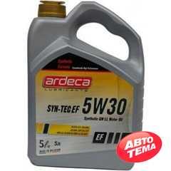 Купить Моторное масло ARDECA SYNTH-EF 5W-30 (5л)