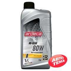 Купить Трансмиссионное масло ARDECA HD Gear 80W (1л)