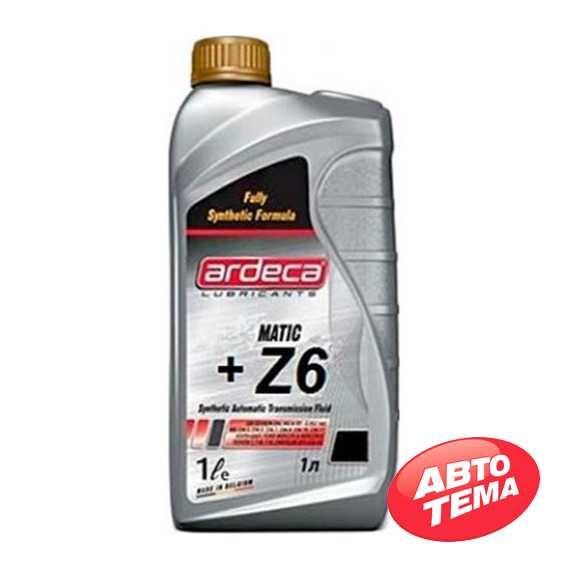 Трансмиссионное масло ARDECA ATF Matic-Z6 - Интернет магазин резины и автотоваров Autotema.ua