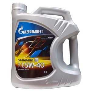 Купить Моторное масло GAZPROMNEFT Standard 15W-40 API SF/CC (4л)
