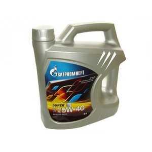 Купить Моторное масло GAZPROMNEFT Super 15W-40 API SG/CD (4л)