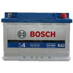 BOSCH 6СТ-74Ah 680A S4 - Интернет магазин резины и автотоваров Autotema.ua