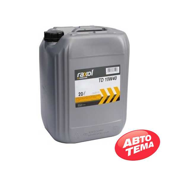 Моторное масло RAXOL Eco Flow TD - Интернет магазин резины и автотоваров Autotema.ua