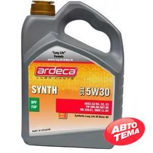 Купить Моторное масло ARDECA SYNTH-LL 5W-30 (5л)