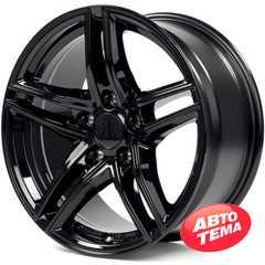 Купить BORBET XR Glossy Black R17 W8 PCD5x120 ET30 HUB72.6