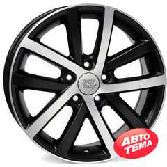 Купить WSP ITALY Rheia VO60 W460 DULL BLACK POLISHED R16 W6.5 PCD5x112 ET42 DIA57.1