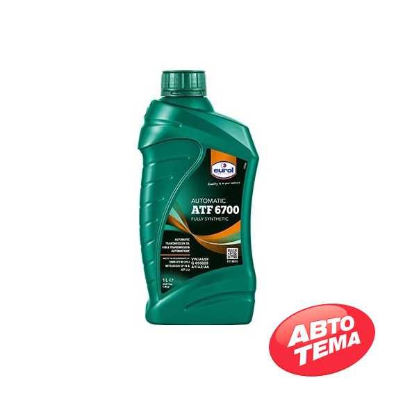 Трансмиссионное масло EUROL ATF 6700 - Интернет магазин резины и автотоваров Autotema.ua