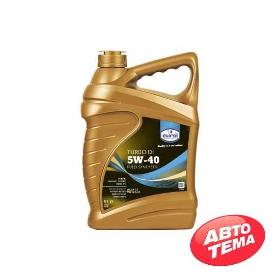Моторное масло EUROL Turbo DI - Интернет магазин резины и автотоваров Autotema.ua