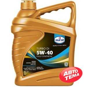 Купить Моторное масло EUROL Turbo DI 5W-40 (4л)