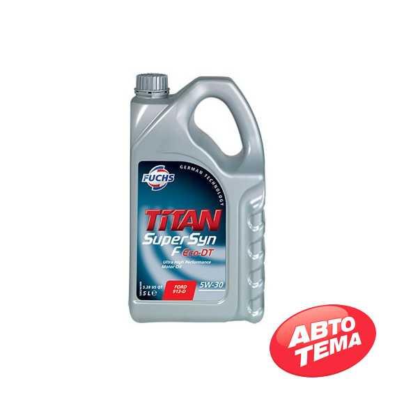 Моторное масло FUCHS Titan SUPERSYN F Eco-DT - Интернет магазин резины и автотоваров Autotema.ua