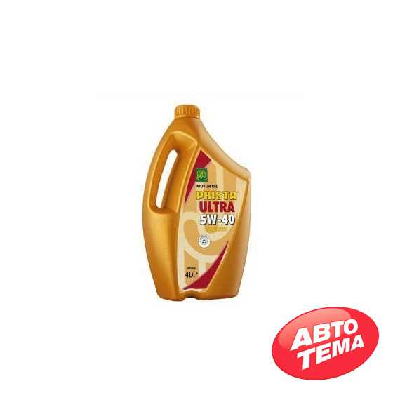 Моторное масло PRISTA Ultra Plus - Интернет магазин резины и автотоваров Autotema.ua