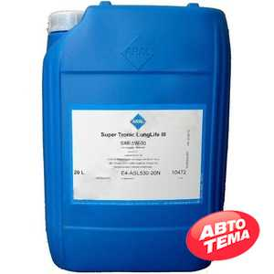 Купить Моторное масло ARAL Super Tronic Longlife III 5W-30 (20л)
