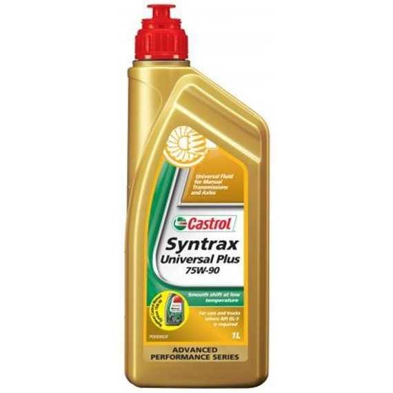 Трансмиссионное масло CASTROL Syntrax Universal Plus - Интернет магазин резины и автотоваров Autotema.ua