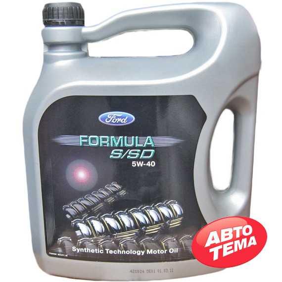 Моторное масло FORD Formula S/SD - Интернет магазин резины и автотоваров Autotema.ua