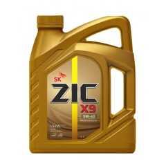 Моторное масло ZIC X9 - Интернет магазин резины и автотоваров Autotema.ua