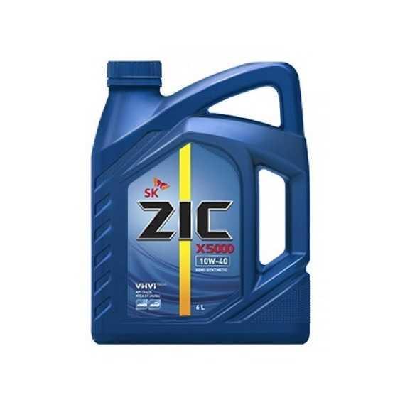 Моторное масло ZIC X5000 - Интернет магазин резины и автотоваров Autotema.ua