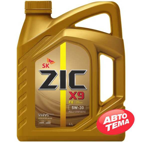 Моторное масло ZIC X9 FE - Интернет магазин резины и автотоваров Autotema.ua