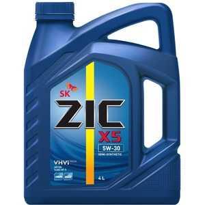 Купить Моторное масло ZIC X5 5W-30 (4л)