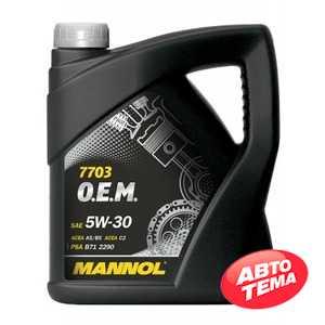 Купить Моторное масло MANNOL O.E.M. 7703 For Peugeot Citroen (4л)
