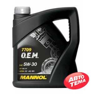 Купить Моторное масло MANNOL O.E.M. 7709 For Toyota Lexus (4л)