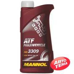Трансмиссионное масло MANNOL ATF Multivehicle - Интернет магазин резины и автотоваров Autotema.ua